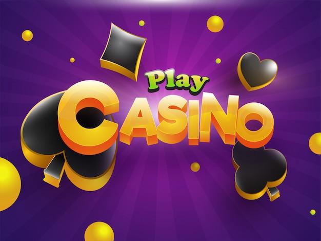 Casino achtergrond.