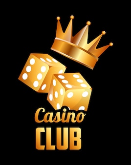Casino club illustratie