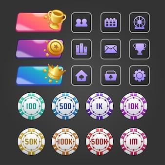 Casino en gokconcept