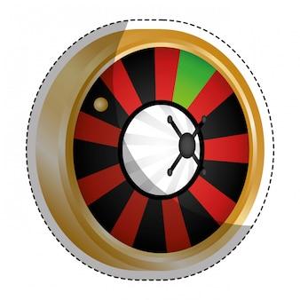 Casino gerelateerd pictogramafbeelding