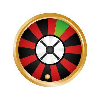 Casino gerelateerde pictogrammen afbeelding