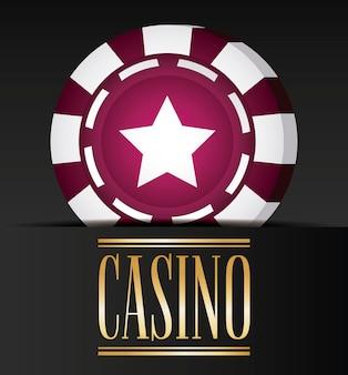 Casino gerelateerde pictogrammen