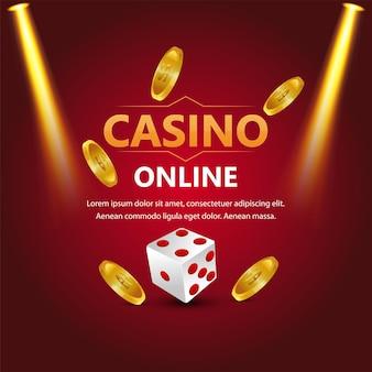 Casino gokspel met casino slot met speelkaarten