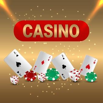 Casino illustratie
