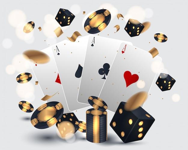 Casino kaart ontwerp