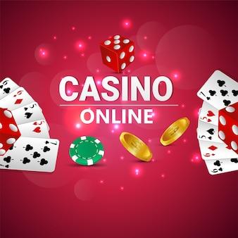 Casino online, luxe gokspel met speelkaarten