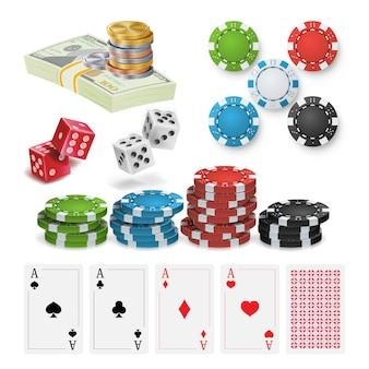 Casino-ontwerpelementen