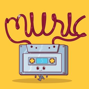 Cassette karakter