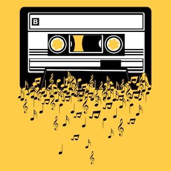 Cassette teken