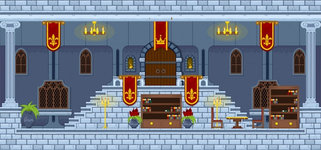 Castle game tileset