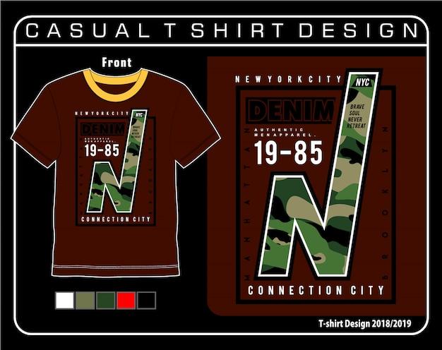 Casual grafische t-shirt