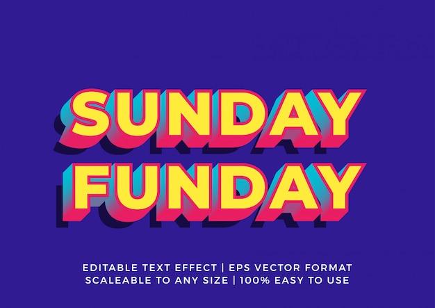 Casual retro promotionele banner teksteffect