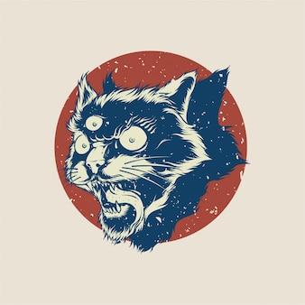 Cat illustratie