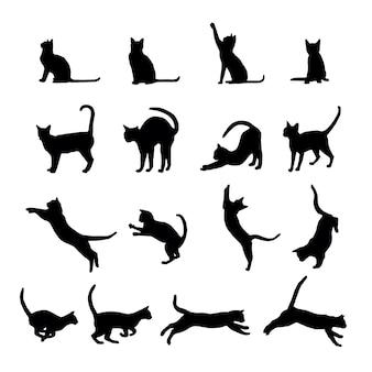 Cat silhouet