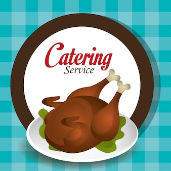 Catering service ontwerp