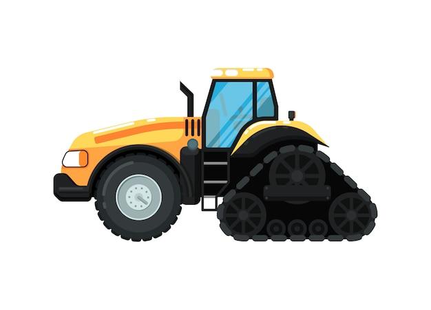 Caterpillar boerderij trekker illustratie