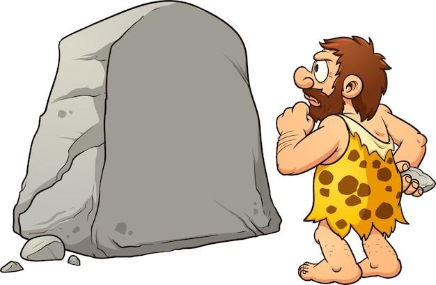 Caveman_with_stone