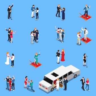 Celebrity isometrische set