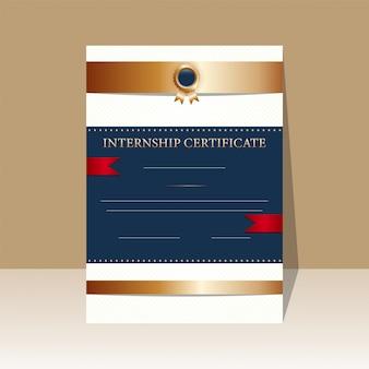 Certificaat ontwerp.