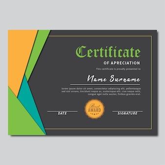 Certificaatgordijn pop-kleur