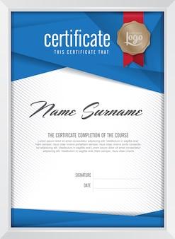 Certificaatsjabloon achtergrond