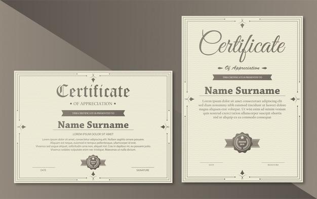 Certificaten van waardering