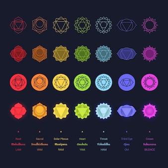 Chakra's kleurrijke collectie
