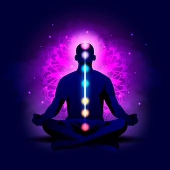 Chakra's mystiek concept