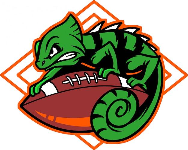 Chameleon voetbal