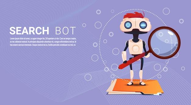 Chat bot zoekrobot virtuele hulp van website of mobiele toepassingen, kunstmatige intelligentie