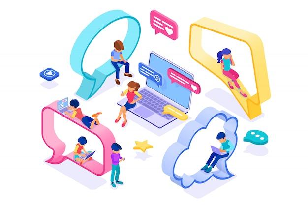 Chat online dating vriendschap in sociale netwerken