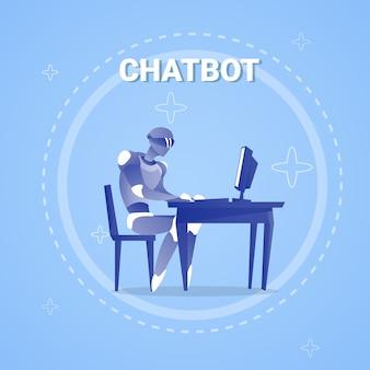 Chatbot met behulp van de computer