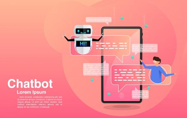 Chatten met chatbot-applicatie