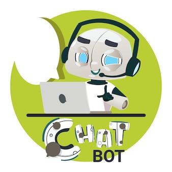 Chatter bot beantwoord gebruikersvragen