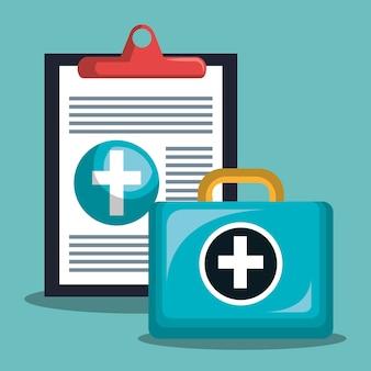 Checklist medische eerste hulp gezondheid