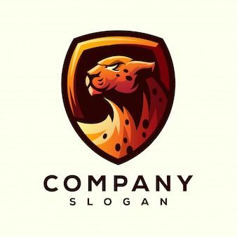 Cheetah logo ontwerp