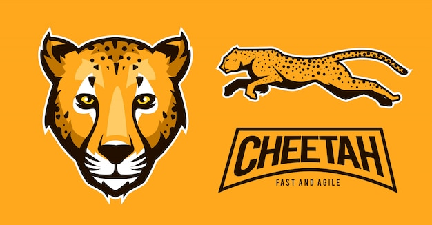 Cheetah logo sport