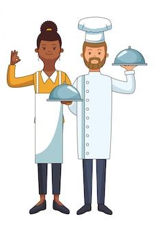 Chef en hulp