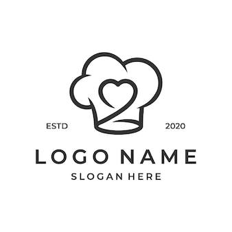 Chef-kok logo inspiratie