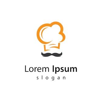 Chef logo afbeeldingen afbeelding ontwerp
