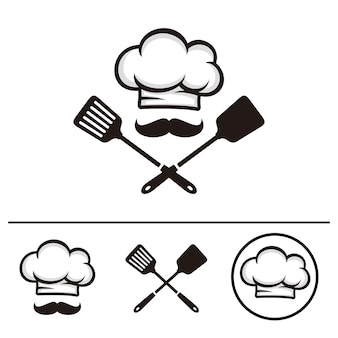 Chef logo sjabloon