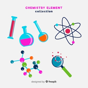 Chemie elementen collectie