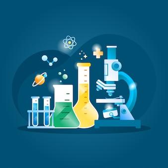 Chemie illustratie
