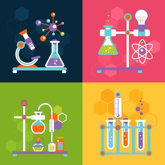 Chemie ontwerpconcepten