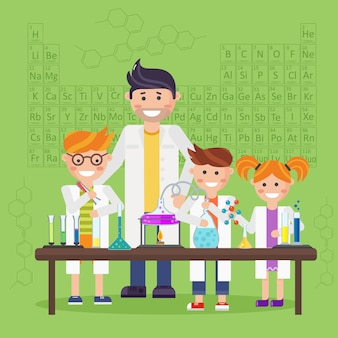 Chemielaboratorium, onderwijsconcept