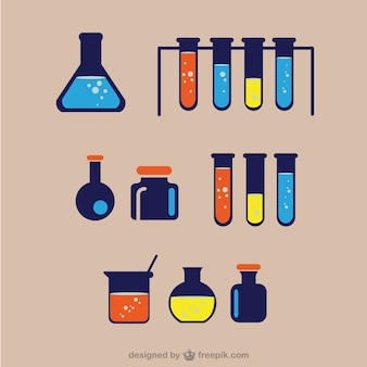 Chemisch laboratorium ware