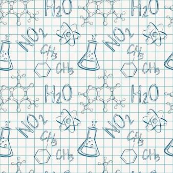 Chemisch naadloos patroon