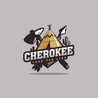 Cherokee logo ontwerp