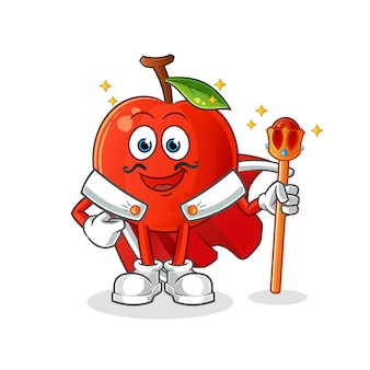 Cherry koning illustratie