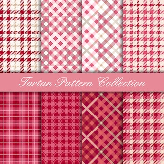 Cherry roze tartan collectie